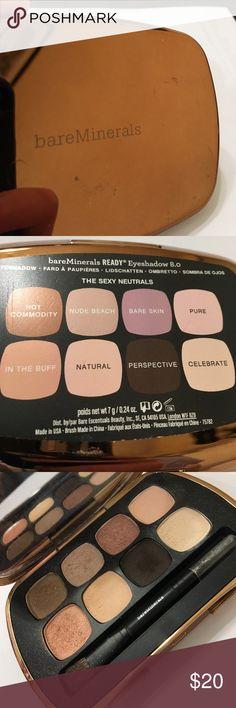 Bare minerals eyeshadow. The Sexy Neutrals Bare minerals eyeshadow. The Sexy Neutrals.                  Only used to swatch Bare Escentuals Makeup Eyeshadow