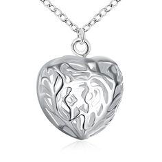 Encontrar Más Collares pendientes Información acerca de Caliente de plata en…