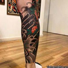 japanese tattoos for women Japanese Leg Tattoo, Japanese Legs, Japanese Tattoos For Men, Japanese Dragon Tattoos, Japanese Tattoo Designs, Japanese Sleeve Tattoos, Tattoo Calf, Leg Tattoo Men, Leg Tattoos