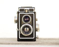 Retro Mod Decor Ikoflex Camera Print Photograph by galleryzooart