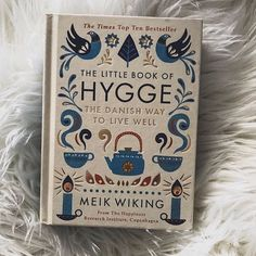 On gloomy, rainy days I love to re-read The Little Book of Hygge. I swear, the first time I read it, I bought every sheepskin throw IN EXISTENCE. 😂 Besides being cozy, I've tried to adopt other Hygge principles - like unplugging from all electronics Hygge Book, Sheepskin Throw, Little Books, Rainy Days, First Time, Cozy, Electronics, Lifestyle, Reading