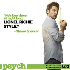 #Psych - Shawn Spencer