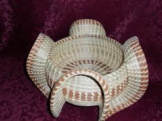Wave Basket, Sweetgrass Gullah