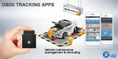OBDII tracker ,plug and play. With SMS APP control , easy and convenient for your control and management. One-touth control,easy for work.
