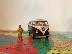 Excited to share the latest addition to my #etsy shop: Brown Toy Volkswagen Bus * VW Van * Volkswagen Bus * Brown VW * Toy Volkswagen * Toy Car *  Diecast * Volkswagen Toy #toys #brown #birthday #beige #volkswagen #brownvolkswagen #toyvolkswagen #toyvw