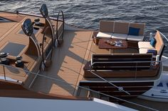 Luxury Sailing Yachts, Yacht Design, Water Crafts, Innovation Design, Sailboat, Design Projects, Modern Design, Concept, Building