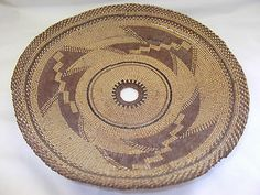 Authentic Indian HUPA Basketry Bowl Circa 1920 Needs Repair | eBay