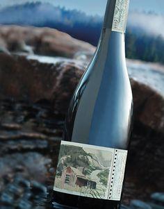 Poronui Ranch - New Zealand Wine Blake Family Vineyard Wine Label & Package Design New Zealand