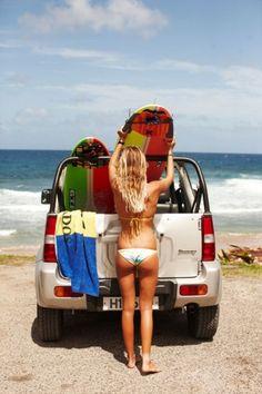 "Surf's up!p ""Photos: Caribbean Beaches, Islands, and Surf Spots : Islands : Condé Nast Traveler"" Surf Girls, Beach Girls, Beach Bum, Barbados, Jamaica, Jimny Suzuki, Daily Bikini, Alana Blanchard, Into The Fire"