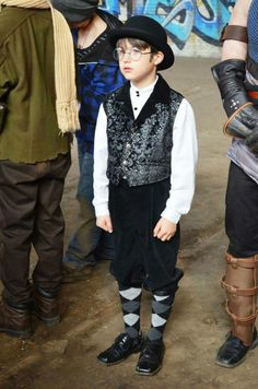 Actor Jack Marino standing ready for his early morning costume check. No matter how young or how old, our actors on Archangel from the Winter's End Chronicles, were some of the most professional I have had the pleasure of working with. We do hope to have the opportunity to work with many of you again on future episodes! Photo by: Origami Wolf Productions. #steampunk #archangeltheseries
