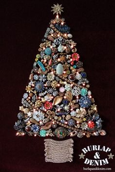 Costume Jewerly Christmas Tree Craft