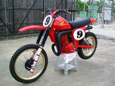 Motocross Bikes, Vintage Motocross, Racing Motorcycles, Sport Bikes, Mx Bikes, Honda Dirt Bike, Honda Bikes, Moto Bike, Dirt Biking
