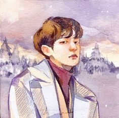 Image uploaded by chloè. Find images and videos about kpop, art and exo on We Heart It - the app to get lost in what you love. Art All The Way, Chloe, Exo Fan Art, Kpop Fanart, Chanbaek, Manga Drawing, Chanyeol, Art Sketches, Amazing Art
