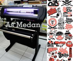 Mesin Cutting Sticker Jinka NXL PRO 721 LED Corel Draw Terlaris.