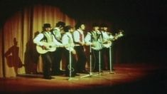 Group performing