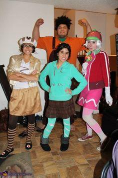 Wreck-It Ralph Gang - Halloween Costume Contest