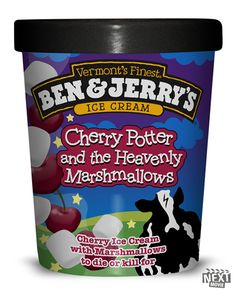 BEN and JERRY's Cherry Potter
