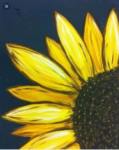 A sun flower painting