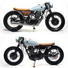 Yamaha SR400 by The Sports Customs - Bangkok, Thailand. #yamaha #motorcycle #caferacer #motorsports #megadeluxe #tw