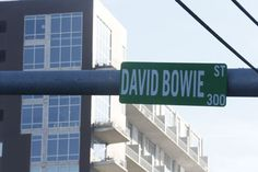 Austin's Bowie Street Vandalized, Becomes David Bowie Street