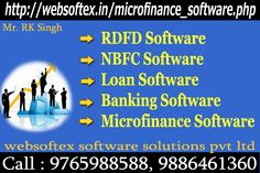 RD (Recurring Deposit) / FD (Fixed Deposit) Software offered by Websoftex Software Solutions Pvt. Ltd will provide you an immense numbers of facilities. It can make the process of agreement registration, agreement maturity calculation and the calculation of commission highly swift and reliable.For more detail log on to: http://websoftex.in/microfinance_software.php