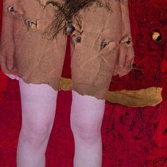 2001 Sebastianne n06. Digital photocollage for colective exhibition 'Saint Sebastian, martyr' St Sebastian, Photocollage, Knee Boots, Artworks, Photography, Design, Fashion, Fotografia, Moda