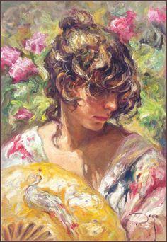 Impressionism | Phi Stars: Colorful Jose Royo Impressionism Paintings