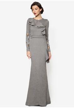 Katie Dress from Jovian Mandagie for Zalora in grey_1