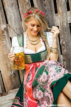 Photo about Pretty young german oktoberfest blonde woman in a dirndl dress with beer. Image of beverage, dress, holding - 76424671 Drindl Dress, Maid Dress, German Women, German Girls, German Oktoberfest, Oktoberfest Beer, Beer Costume, Beer Maid, Cute Girl Image