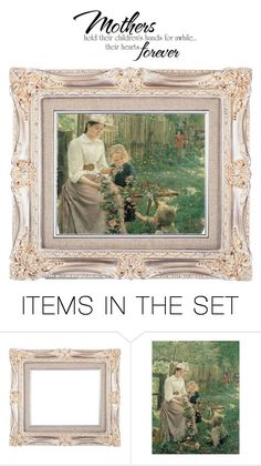 """""""Mothers"""" by chauert ❤ liked on Polyvore featuring art"""
