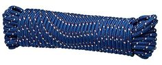 """Crawford-Lehigh MFP8100 3/8-Inch-by-100-Foot Diamond Braid Poly Rope, Colors Vary by Crawford-Lehigh. $14.39. From the Manufacturer                This 3/8"""" x 100' hank Multi-color all purpose diamond braid poly rope.  Use around water - it floats and resists rot and mildew.  Excellent for use at the job site. Because of its light weight, polypropylene (poly) is the only rope which floats, and for this reason is very popular for use as pool markers and water sports. Poly is affec..."""