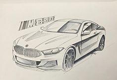 Bmw done on a sketchbook - Bwm Series Bmw Sketch, Car Design Sketch, Cool Car Drawings, Art Drawings Sketches, Spaceship Drawing, Car Drawing Pencil, Suv Bmw, Preppy Car, Airplane Drawing