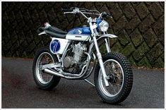 Honda SL90 - SpeedtractorIndustries - Pipeburn - Purveyors of Classic Motorcycles, Cafe Racers & Custom motorbikes
