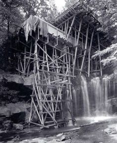 Falling Water under construction 1936