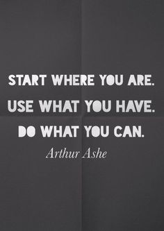 Arthur Ashe quote about life and perseverance | inspirational quotes