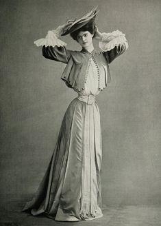 Les Modes (Paris) 1903. Robe pour les courses par Paquin