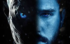 Download wallpapers Game of Thrones, Kit Harington, A Song of Ice and Fire, Jon Snow, TV series, White Walkers
