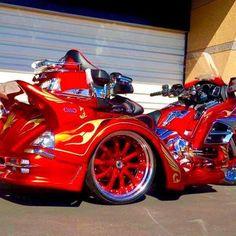 GORDON GL1800TRIKE Type2✨#GORDON_GL1800_TRIKE#gordon #gordontrike #trike #gl1800 #gl1800trike #goldwing #goldwing1800 #luxury #luxurylife #honda #Japan #supercar #superbike #biker #touring #instafashion #instahappy #instacars #instagood #ゴードン #トライク #ゴールドウィング #バイク #車 #ドライブ #ツーリング #ラグジュアリー #ホンダ #赤