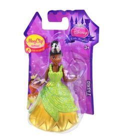 Disney Princess Little Kingdom MagiClip Fashion Tiana Doll