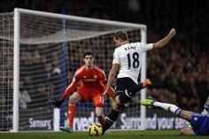 Harry Kane against Chelsea