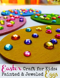 Fun and easy Easter craft for Kids that make great gifts!