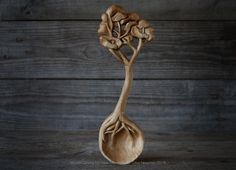 Hand Carved Sycamore Tree Spoon by Giles-Newman-Carving on DeviantArt