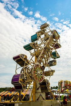 Take A Ride by Sherman Perry Fair Rides, Carnival Rides, County Fair, Carnivals, Amusement Parks, Life Is Like, Roller Coaster, Behavior, Sick