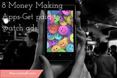 How would you like to get paid watching videos on apps? Free apps that are available for download anytime. This is a good way to make some extra money on y