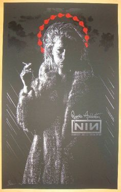 2009 Nine Inch Nails & Jane's Addiction Poster by Todd Slater