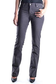 JUST CAVALLI Just Cavalli Women'S Mcbi170023O Grey Cotton Jeans. #justcavalli #cloth #