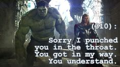 Texts from the Avengers #310
