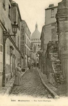 MONTMARTRE. — Rue Saint-Rustique