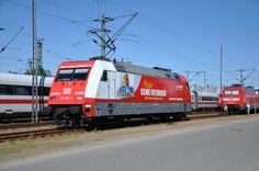 CEWE Lokomotive im Stellwerk