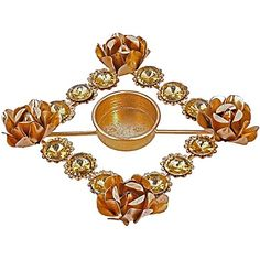Beautiful Diya Christmas Rangoli Decorations Puja Candle Holder for Tea Lights Lovely Gift Idea for Any Occasion >>> Click image for more details.